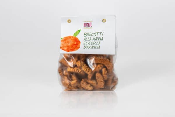 Manna and Orange Peel Biscuits 250g