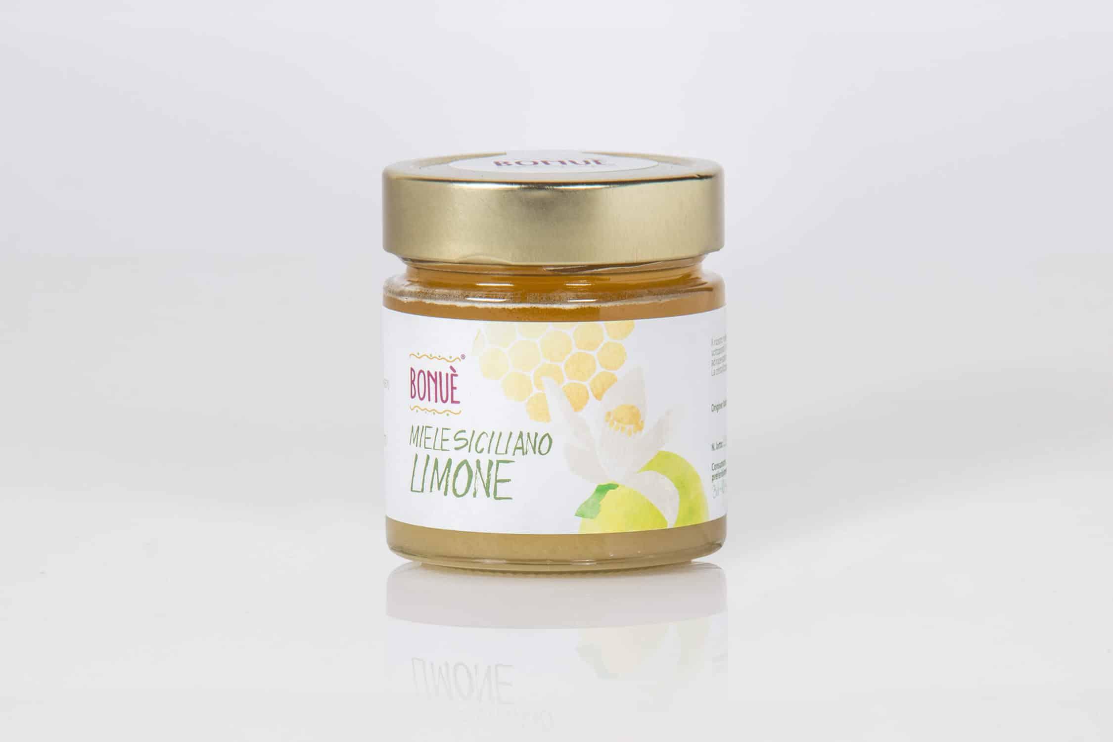 Miele siciliano al Limone Bonuè vasetto 300g