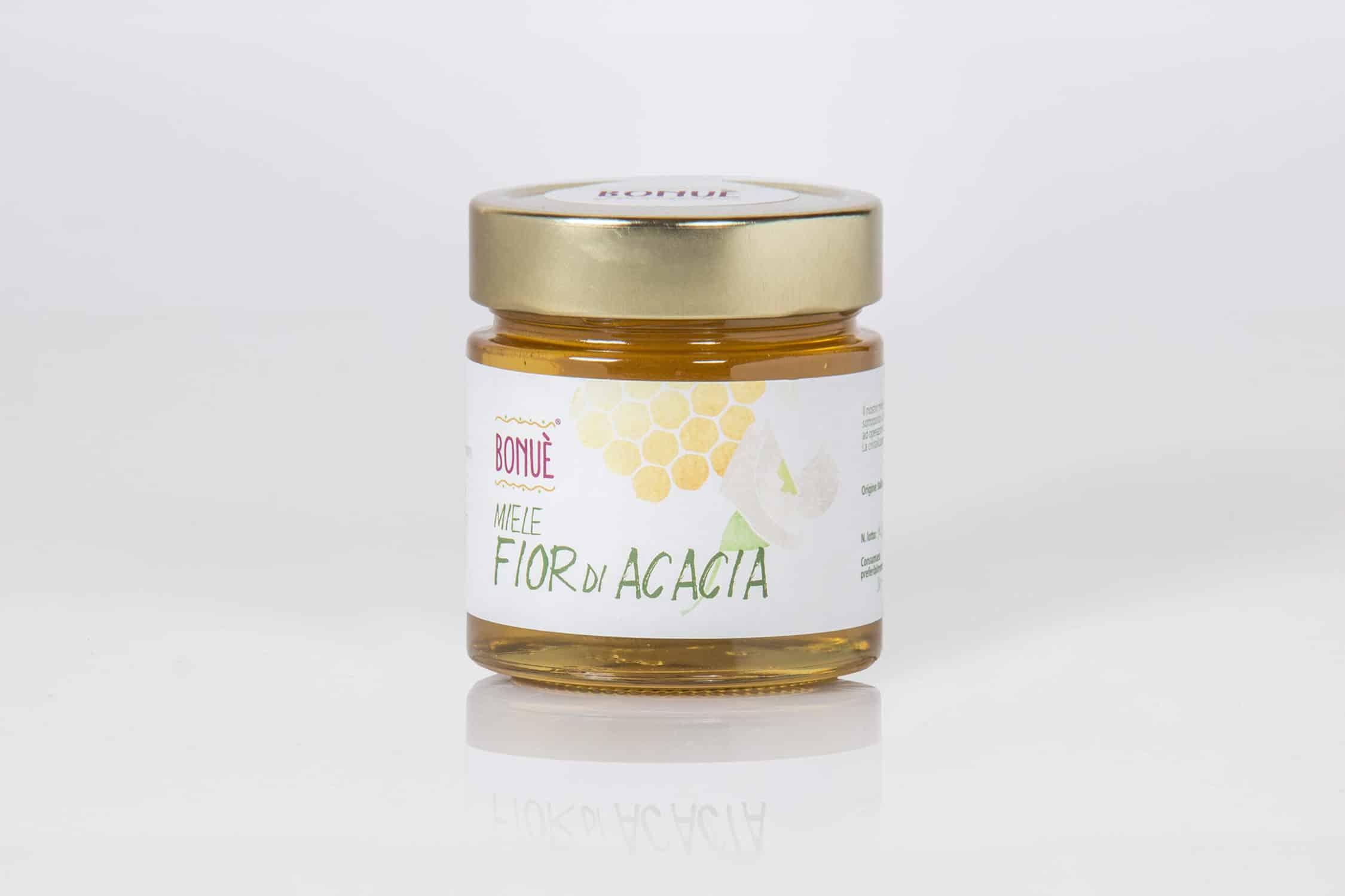Miele Fior d'Acacia Bonuè vasetto 300g